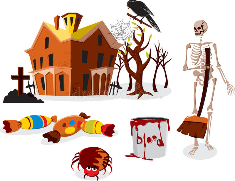 Download Halloween Party stock image. Image of haunted, scare - 14150253