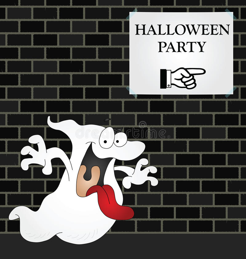 Halloween-Party vektor abbildung