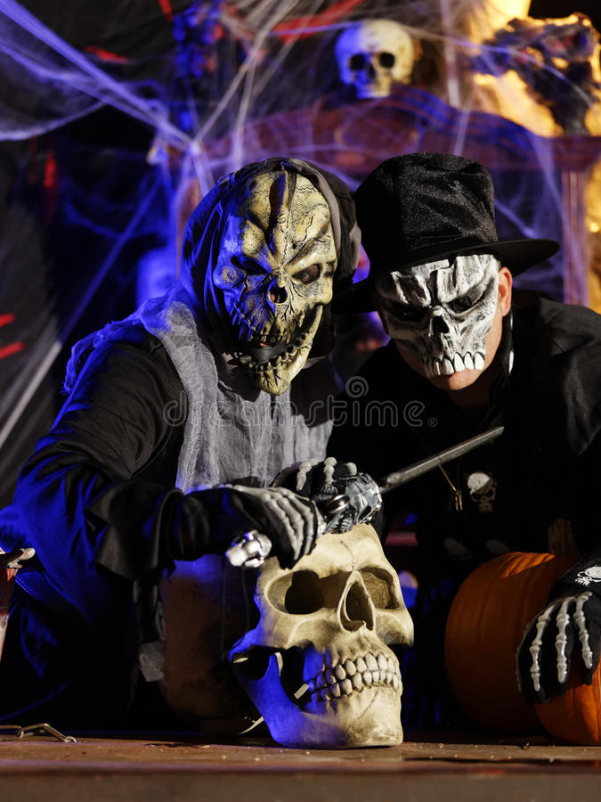 Download Halloween Party Stock Image - Image: 27458111