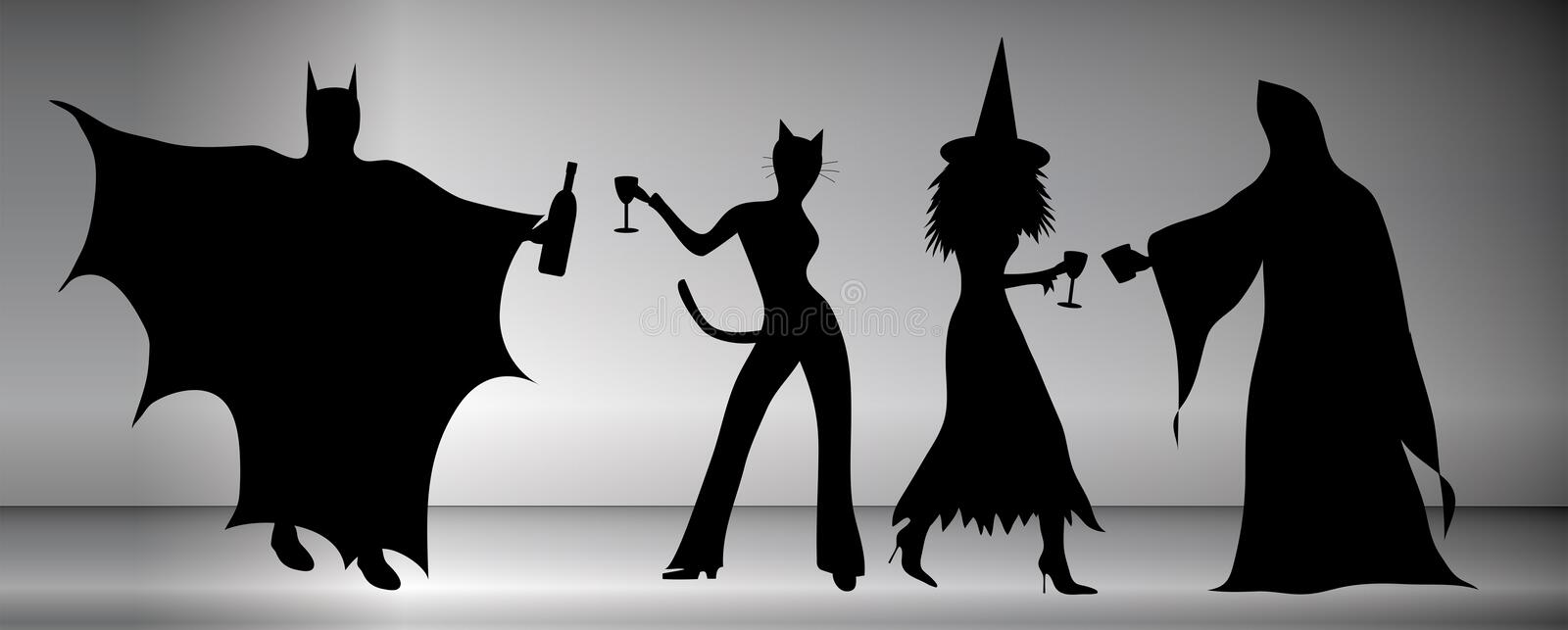 Halloween Party stock illustration