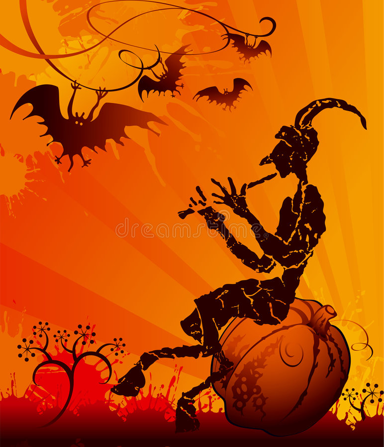 Download Halloween party stock illustration. Image of celebration - 3380987