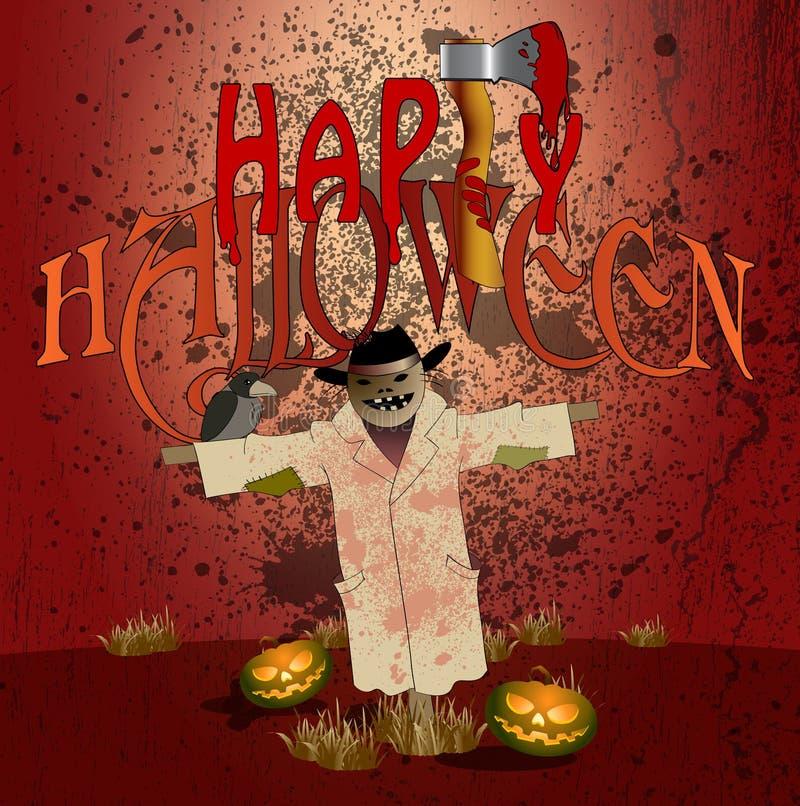 Halloween party007 illustrazione di stock