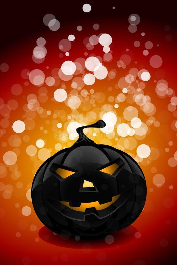 Halloween party background stock illustration