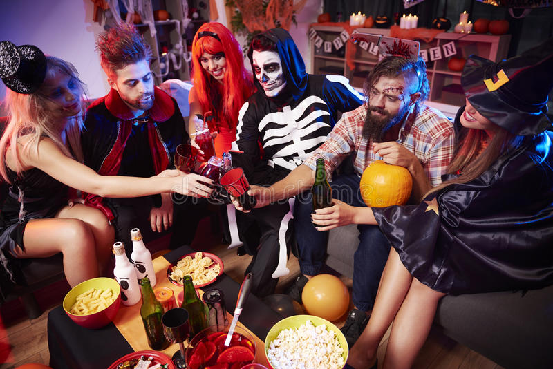 Halloween party royalty free stock image