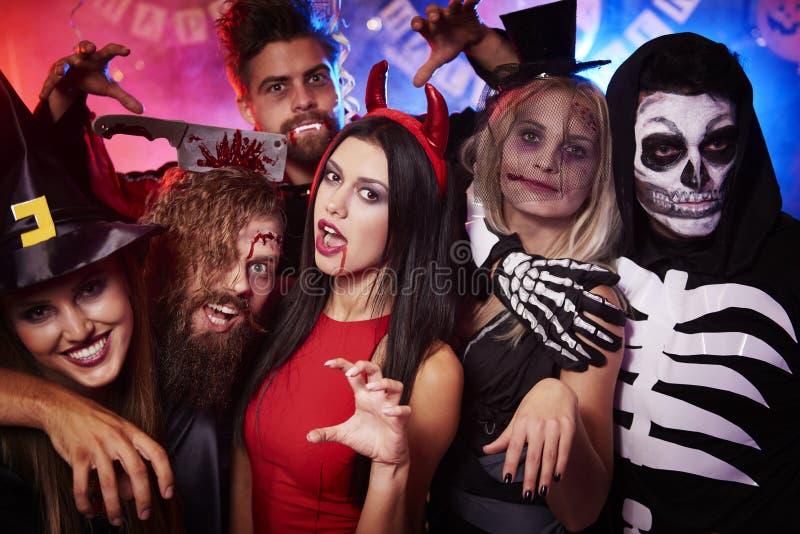 Halloween party royalty free stock photo