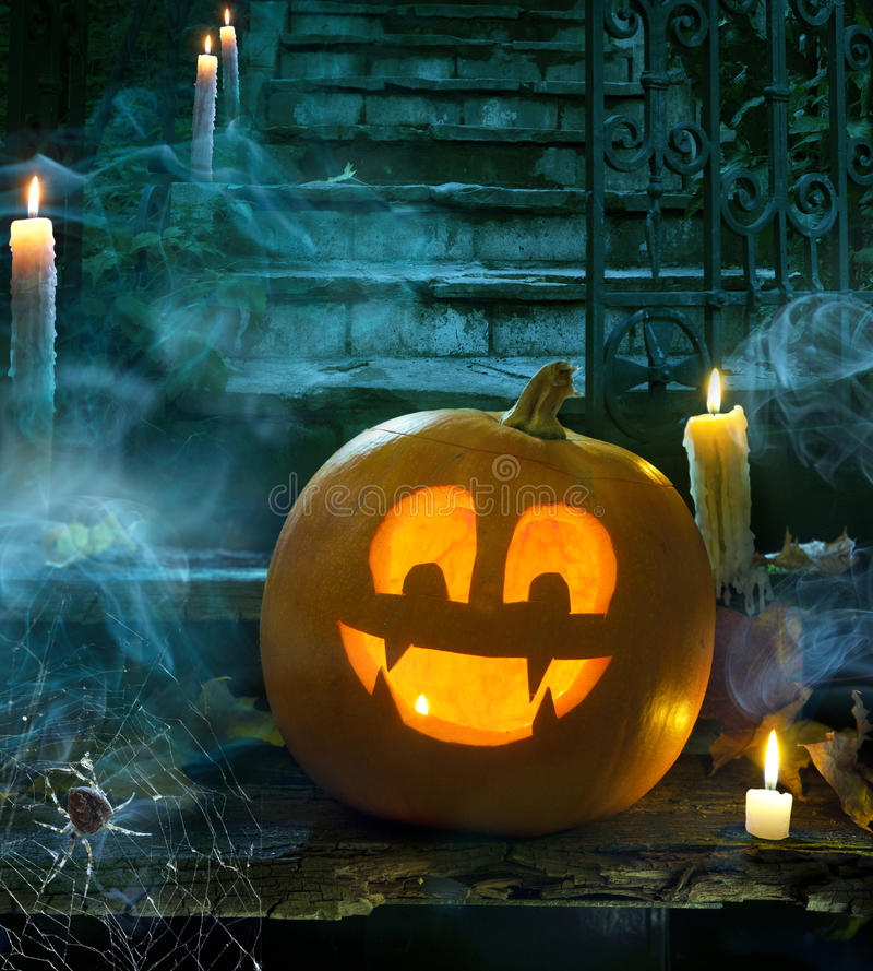 Download Halloween party design stock photo. Image of lantern - 21726472
