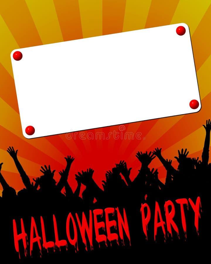 Download Halloween Party Einladung Stock Abbildung. Bild Von Zeichnung    6695124