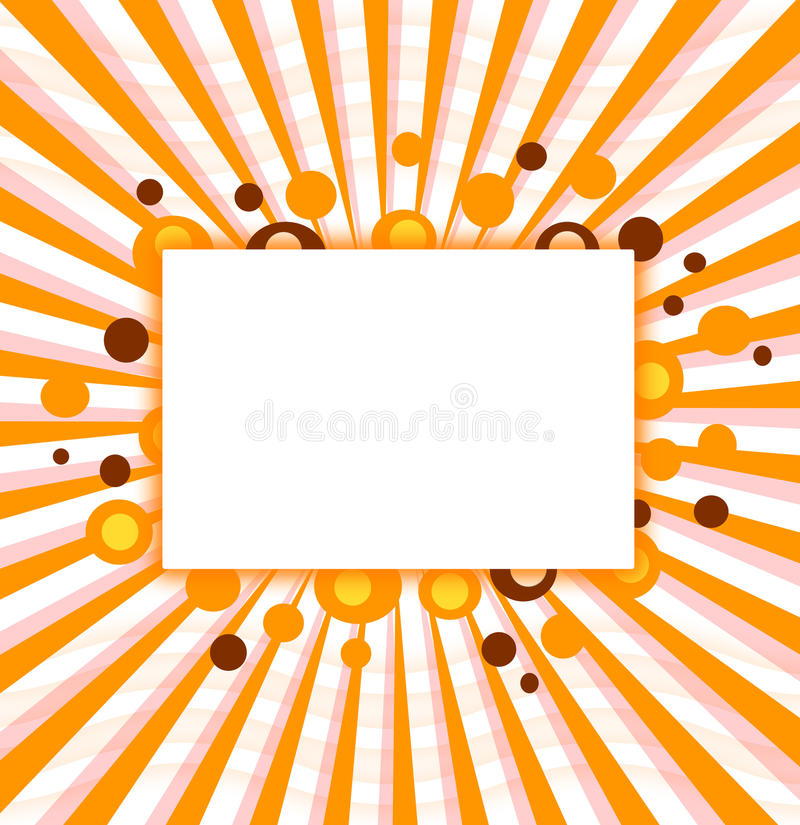 Halloween party frame design royalty free stock image