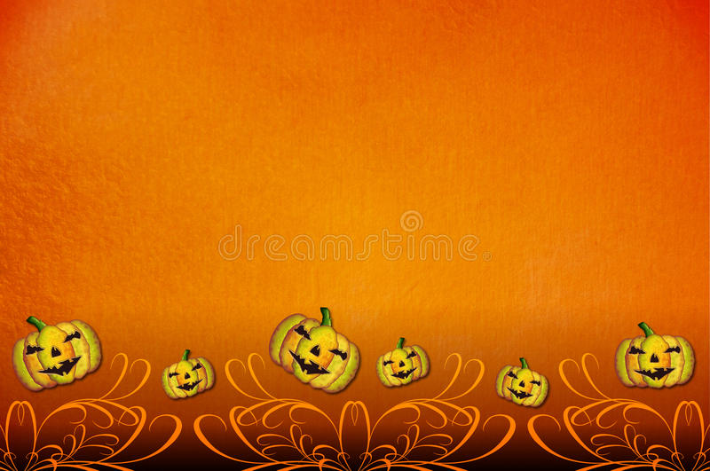 Halloween Party Invitation Template Stock Illustration