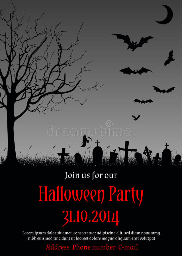 Halloween invitation backgrounds funfndroid halloween invitation backgrounds stopboris Gallery