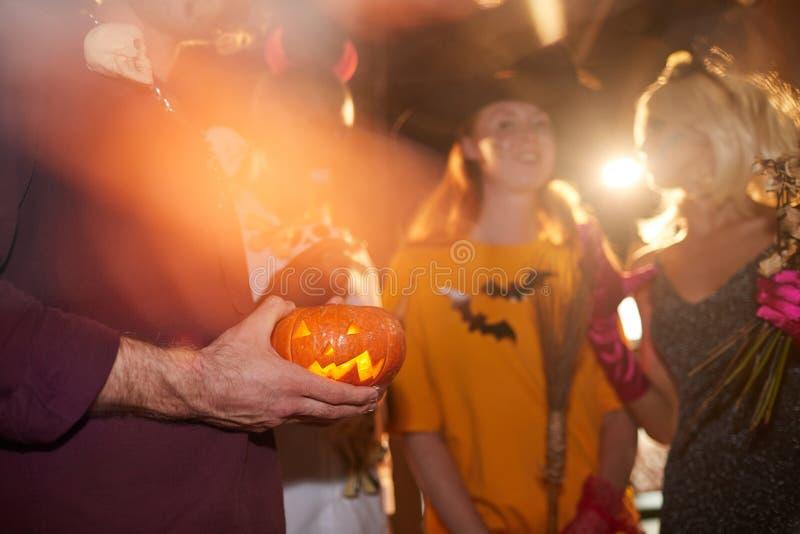 Halloween Party in NightClub Close up zdjęcie royalty free
