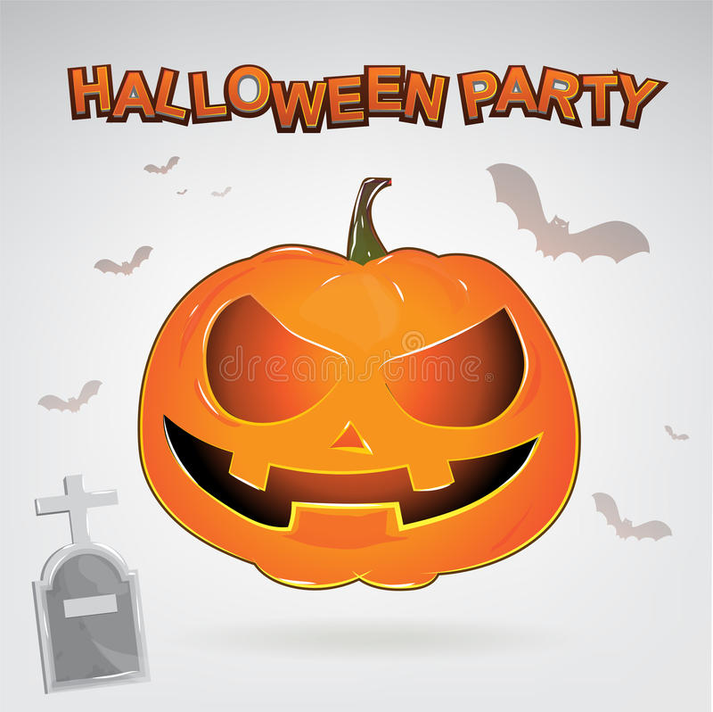 Free Halloween Party Vector Concept Full Moon Land Stock Photo - 65455440