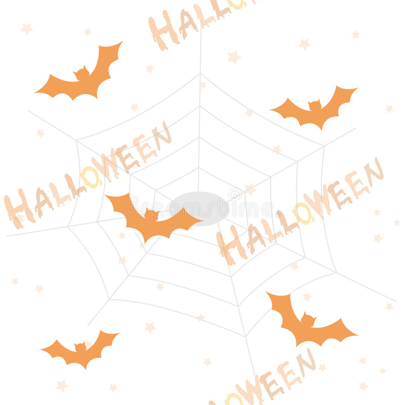 Halloween pattern / background royalty free illustration