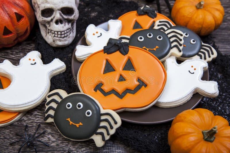 Halloween-Plätzchen stockfoto
