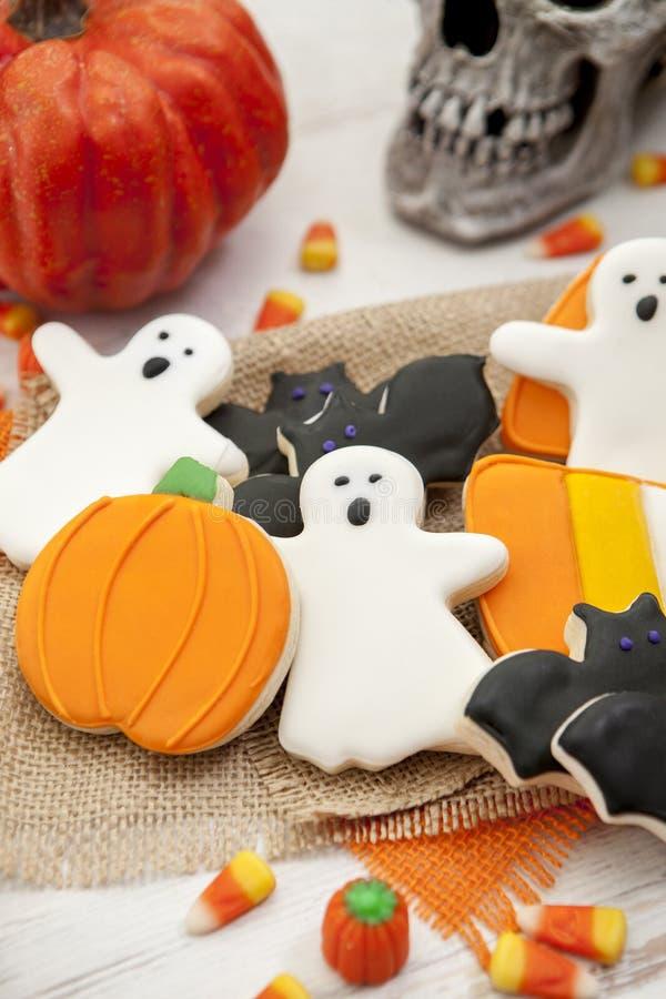 Halloween-Plätzchen stockfotografie