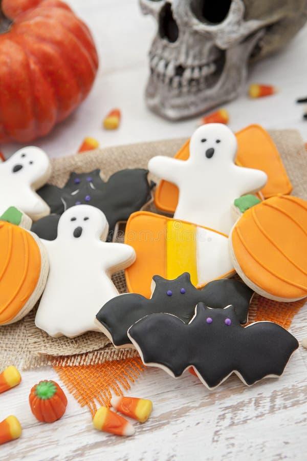 Halloween-Plätzchen stockfotos