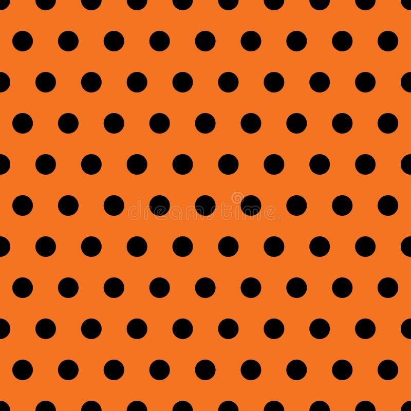 Download Halloween Polka Dots stock illustration. Image of spot - 6625517