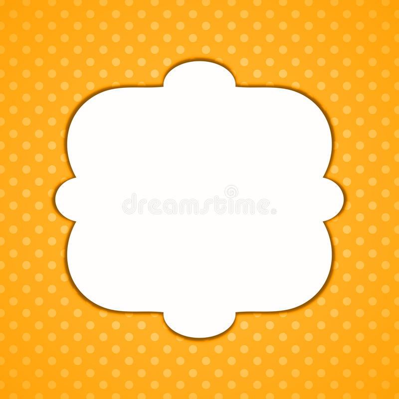 Download Halloween Polka Dots Border Frame Stock Illustration - Illustration of meeting, background: 92241218