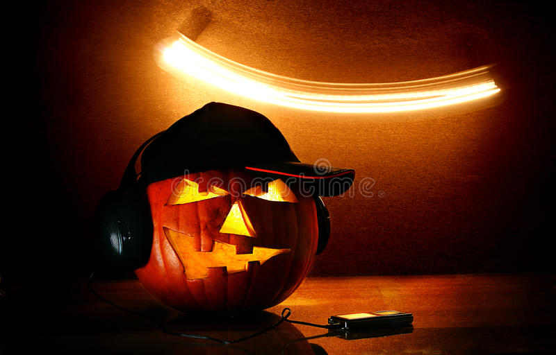 Halloween-pompoen royalty-vrije stock foto