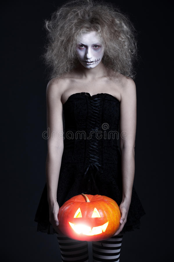 Download Halloween Portrait Of Ghost Stock Image - Image: 16278077