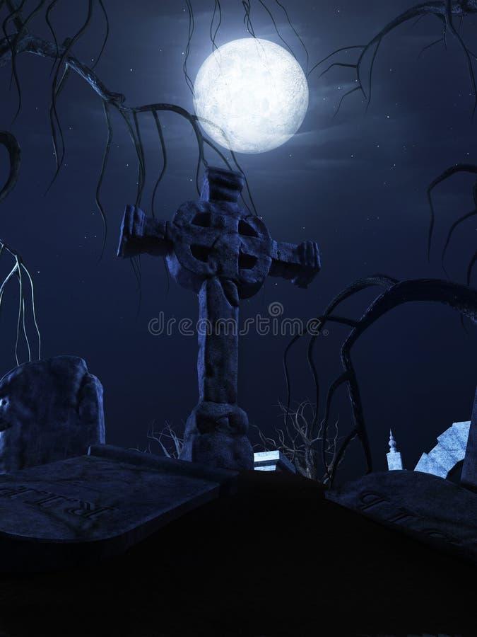 Download Halloween poster stock illustration. Illustration of gate - 21437666
