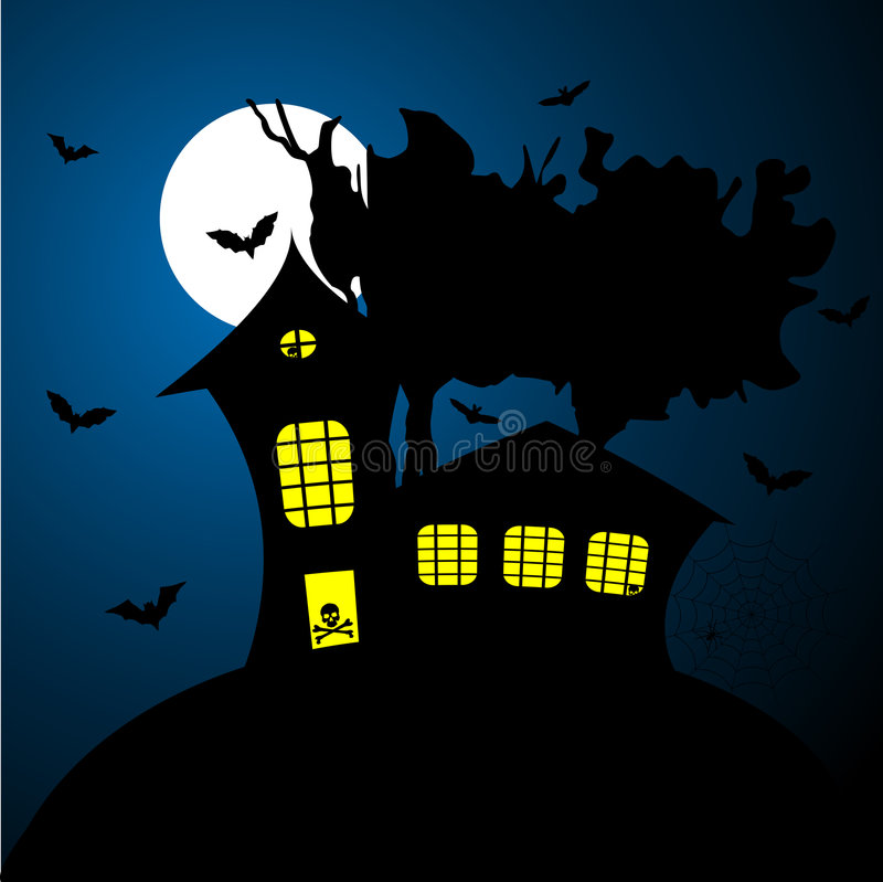 Download Halloween poster stock vector. Image of ghost, midnight - 6579920