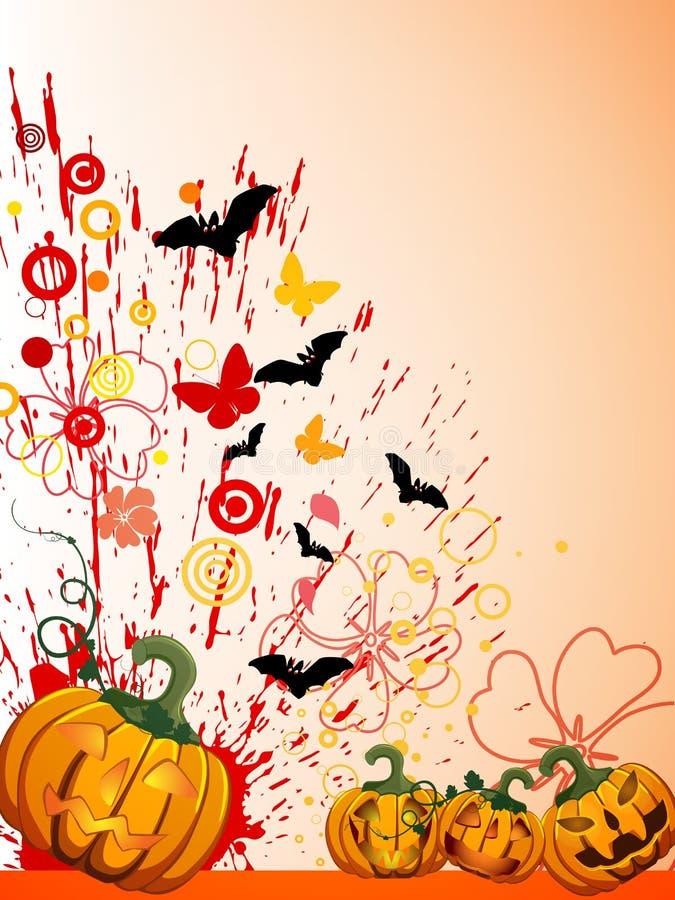 Halloween poster stock illustration