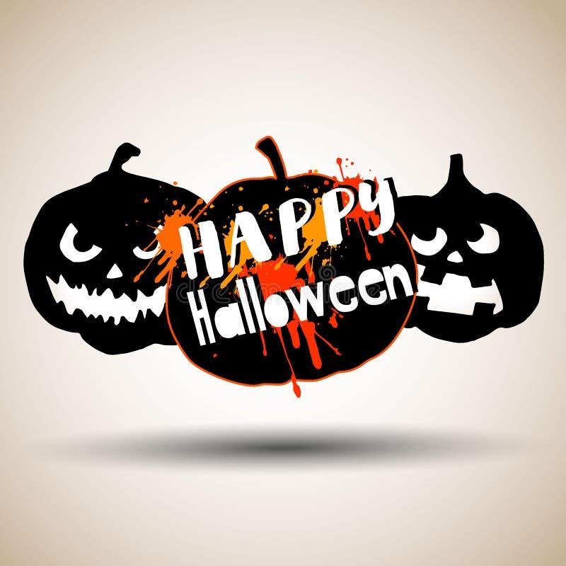 Halloween, potiron, automne, vacances, orange, symbole, légume, illustration, octobre photographie stock libre de droits