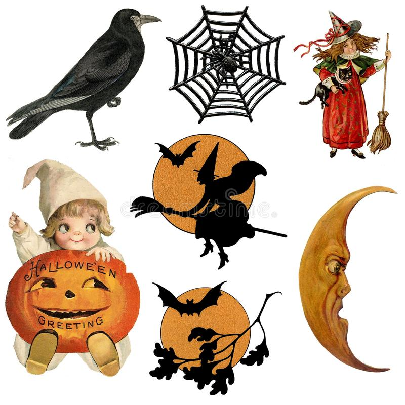 Halloween, potiron, clipart (images graphiques), illustration