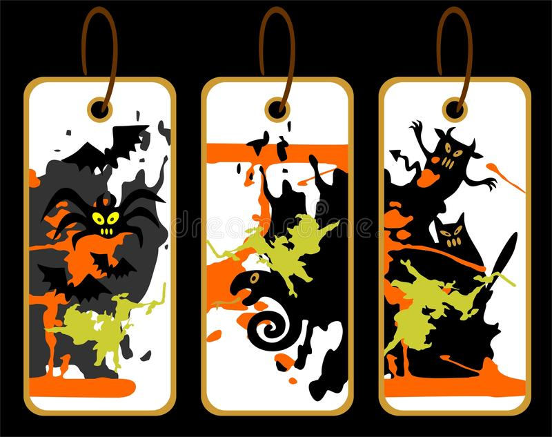 Halloween-Preise vektor abbildung