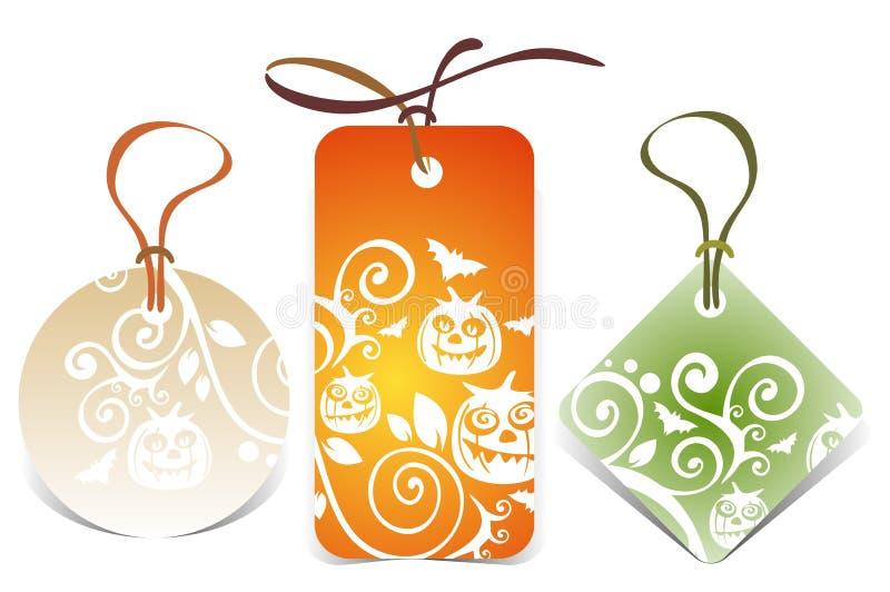 Halloween-Preise stock abbildung