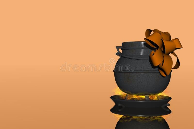 Download Halloween present stock illustration. Illustration of present - 1212680