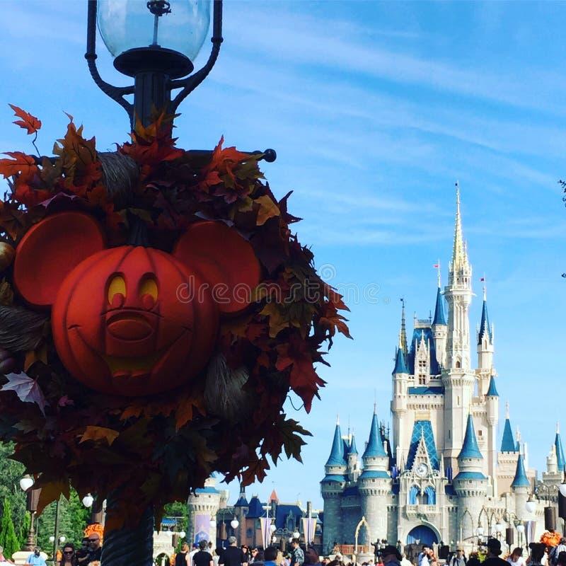 Halloween Przy Walt Disney światem obrazy stock