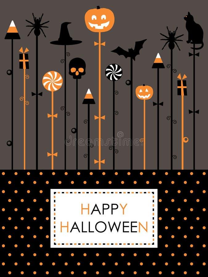Halloween przyjęcie ilustracja wektor