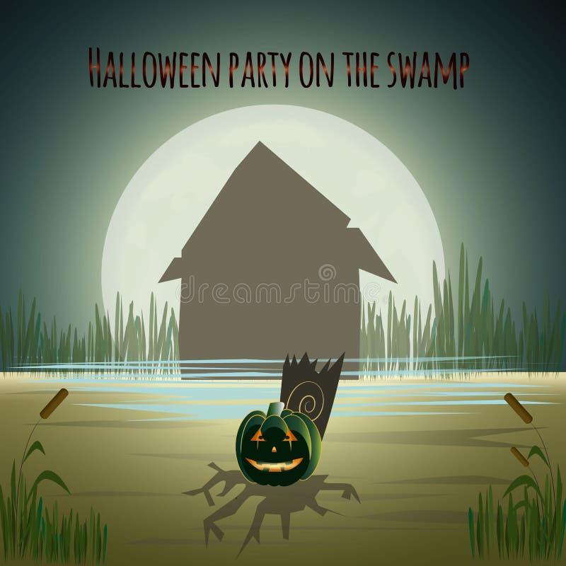 Halloween przyjęcie obraz stock
