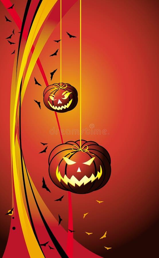 Halloween_pumkin royalty free illustration