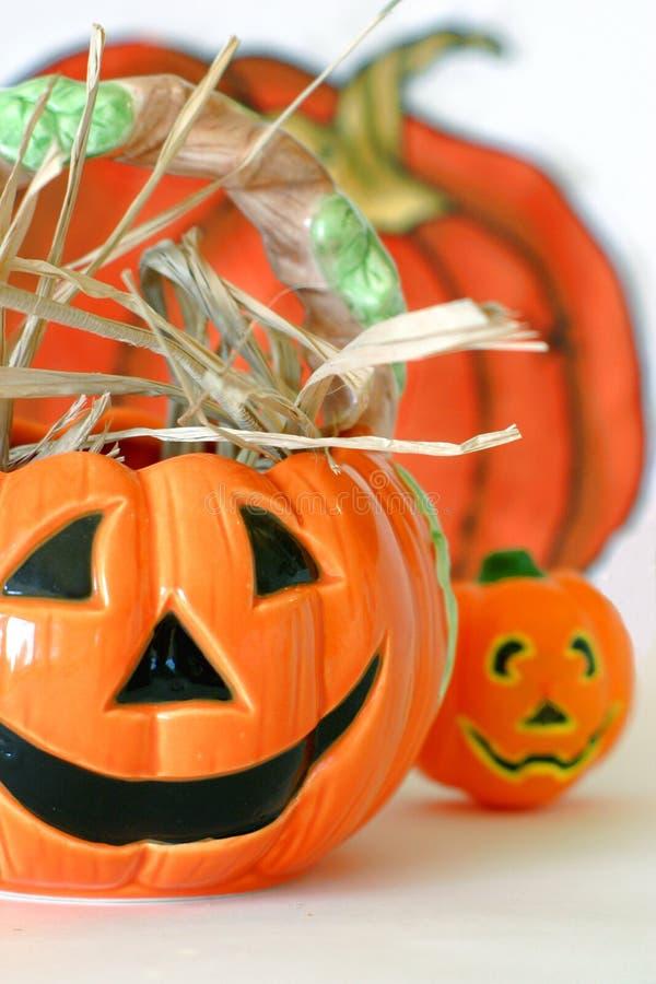 Halloween Pumkins royalty free stock photography