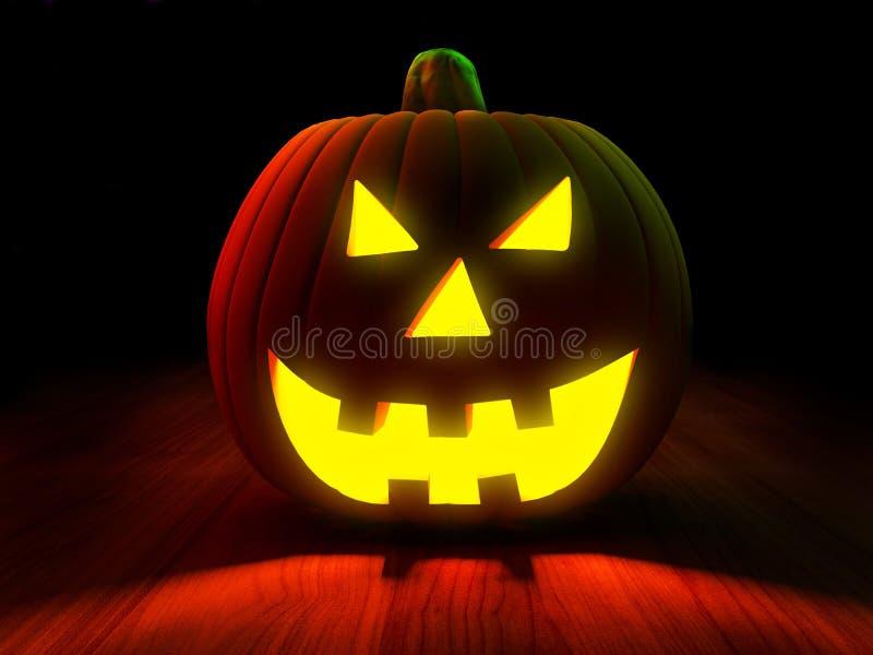 halloween pumpa stock illustrationer