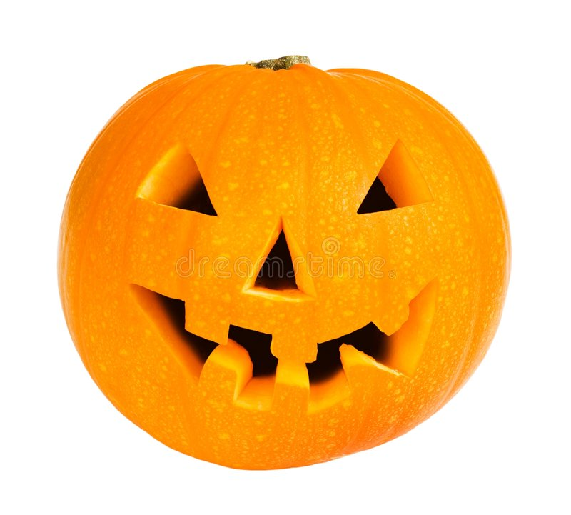 halloween pumpa arkivfoto