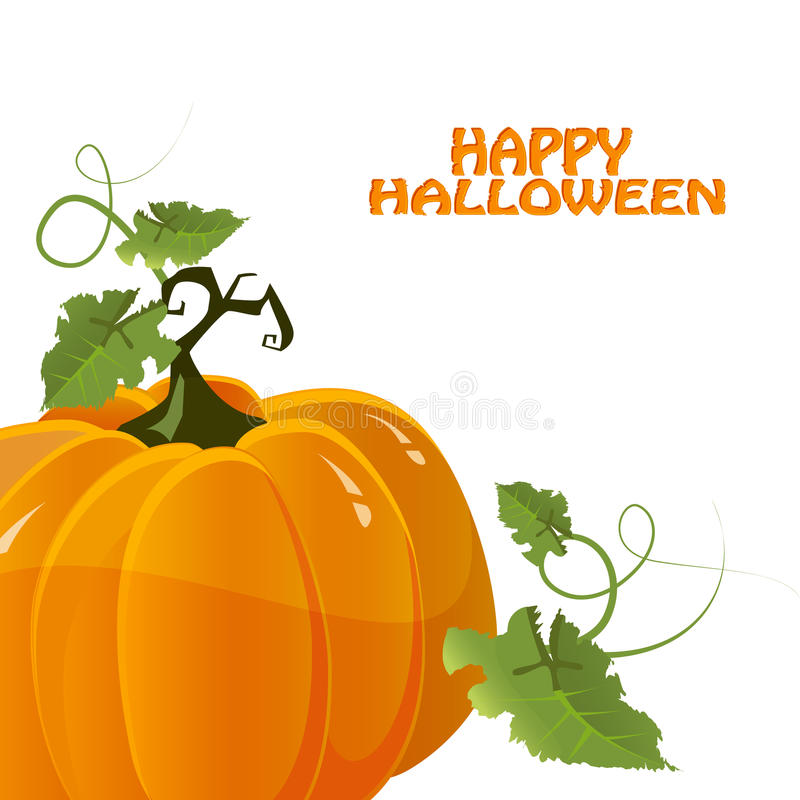 halloween pumpavektor stock illustrationer