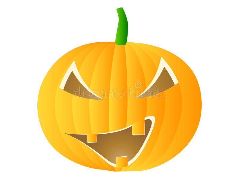 Download Halloween pumpkin stock vector. Illustration of hallows - 16275559
