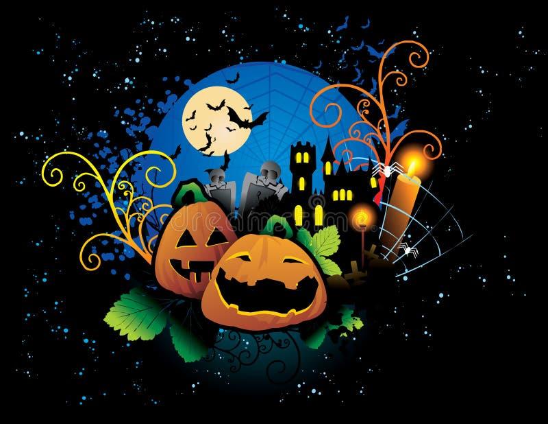 Download Halloween pumpkin stock vector. Image of holidays, pumpkin - 18005991