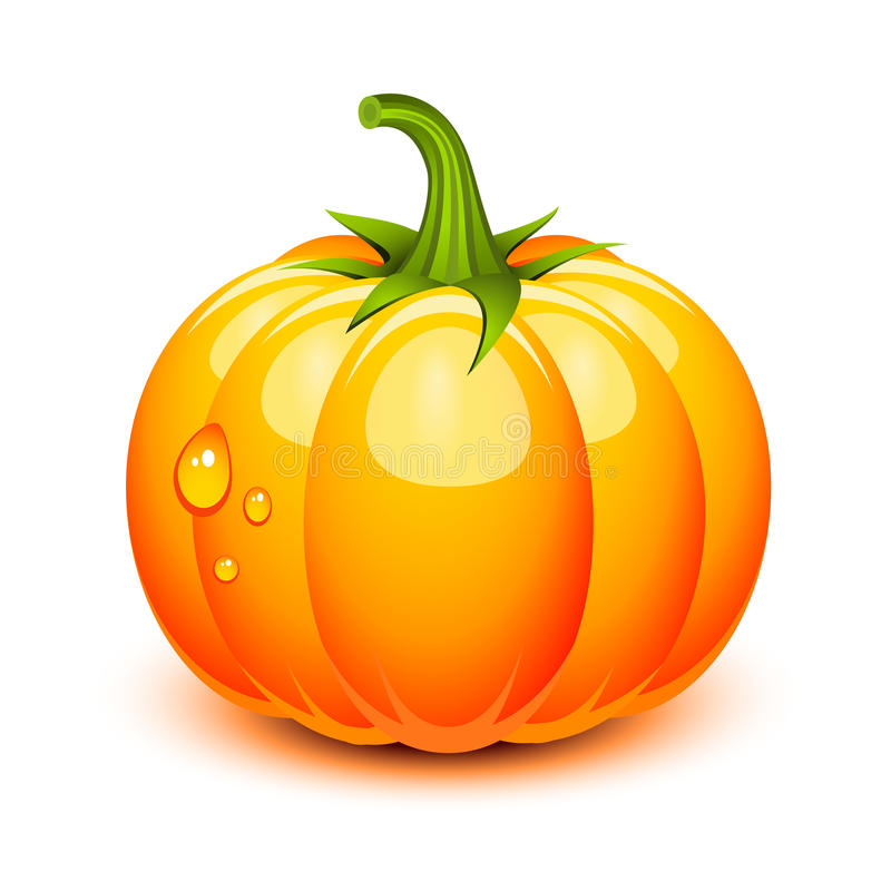 Halloween pumpkin royalty free illustration