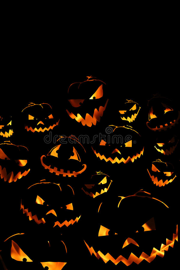 Free Halloween Pumpkin Background Royalty Free Stock Images - 21074959