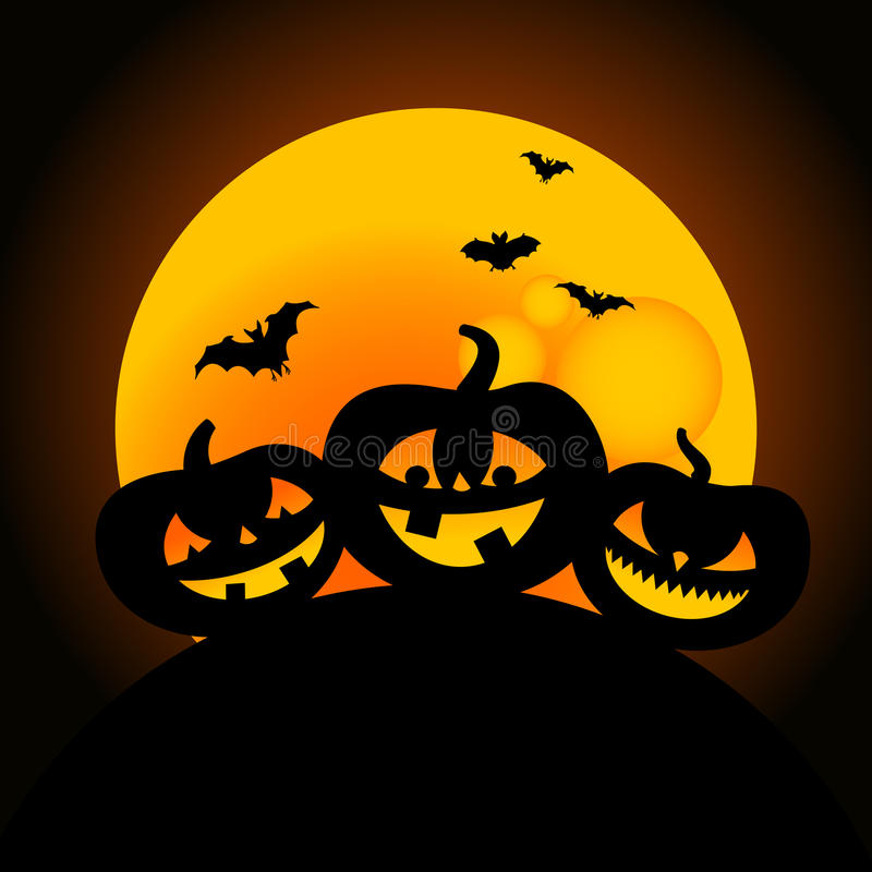 Download Halloween pumpkin design stock vector. Image of devil - 10713513