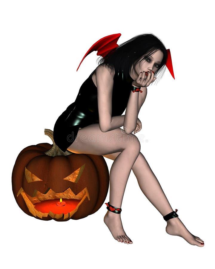 Halloween Pumpkin Devil - 1