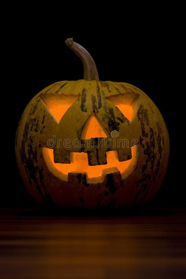 Halloween Pumpkin Face royalty free stock image