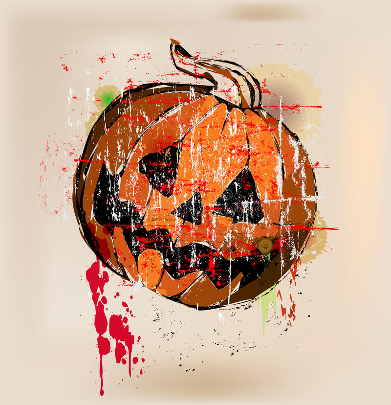 Download Halloween pumpkin stock vector. Illustration of carving - 33867688