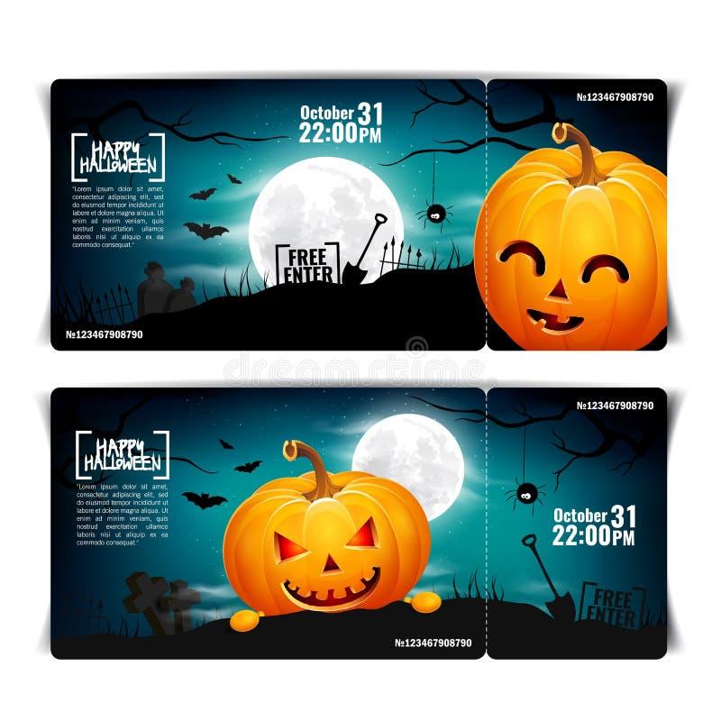 Halloween pumpkin head jack lantern poster royalty free stock images