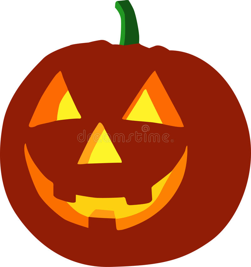 Download Halloween Pumpkin Isolated On White Background Stock Photography - Image: 10872952